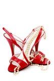 Zapatos del baile Fotografía de archivo