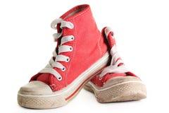 Zapatos del deporte. Foto de archivo libre de regalías