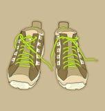 Zapatos del deporte Fotos de archivo libres de regalías