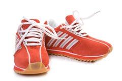 Zapatos del entrenamiento de la aptitud Imagenes de archivo