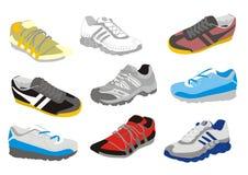 Zapatos del entrenamiento del Mens Imagenes de archivo