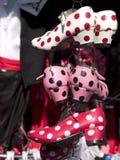Zapatos del flamenco Foto de archivo