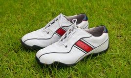 Zapatos del golf Foto de archivo libre de regalías