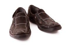Zapatos del hombre Fotografía de archivo libre de regalías