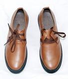 Zapatos del hombre Fotos de archivo