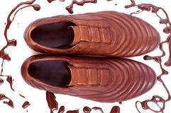 Zapatos del hombre. fotos de archivo libres de regalías