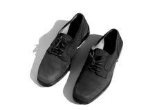 Zapatos del hombre Imágenes de archivo libres de regalías