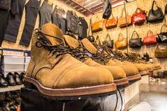 Zapatos del hombre imagen de archivo
