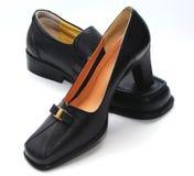 Zapatos del hombre y zapatos de la señora fotos de archivo libres de regalías