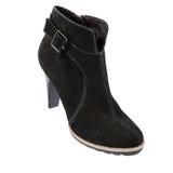 Zapatos del invierno de las mujeres elegantes Foto de archivo