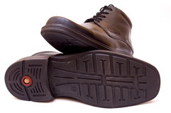 Zapatos del Mens Fotografía de archivo