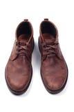 Zapatos del Mens aislados en blanco foto de archivo libre de regalías