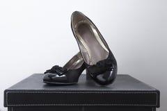 Zapatos 2 del negocio Imagenes de archivo