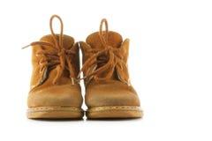 Zapatos del niño fotografía de archivo