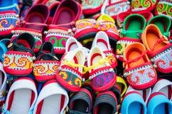 Zapatos del niño Imágenes de archivo libres de regalías