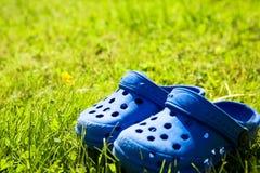 Zapatos del niño Foto de archivo libre de regalías