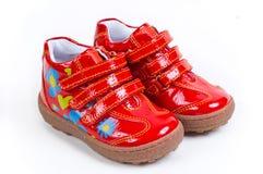 Zapatos del niño Fotos de archivo