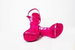 Zapatos del partido Fotografía de archivo libre de regalías