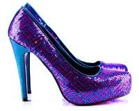 Zapatos del partido fotos de archivo