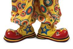 Zapatos del payaso Foto de archivo libre de regalías