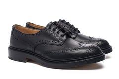 Zapatos del ` s de los hombres Imagen de archivo libre de regalías