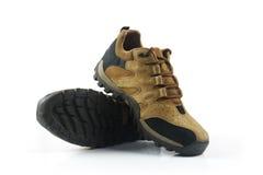 Zapatos del ` s de los hombres aislados en blanco Fotos de archivo