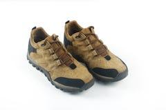 Zapatos del ` s de los hombres aislados en blanco Fotografía de archivo libre de regalías