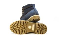 Zapatos del ` s de los hombres en un fondo blanco Imagen de archivo