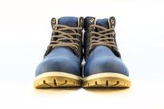 Zapatos del ` s de los hombres en un fondo blanco Fotografía de archivo