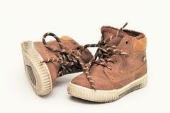 Zapatos del ` s de los niños fotografía de archivo libre de regalías