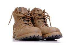 Zapatos del senderismo Foto de archivo libre de regalías