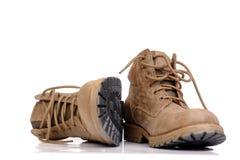 Zapatos del senderismo Fotos de archivo libres de regalías