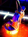 Zapatos del 'strip-tease' imagenes de archivo