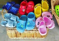 Zapatos del verano Fotografía de archivo