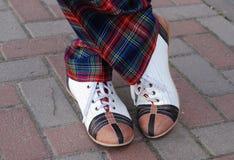 Zapatos divertidos Foto de archivo libre de regalías
