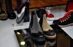 Zapatos elegantes de las señoras Fotografía de archivo libre de regalías