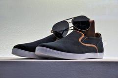 Zapatos elegantes del deporte Fotos de archivo libres de regalías