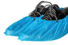 Zapatos en cubiertas del zapato fotos de archivo libres de regalías