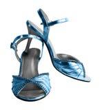 Zapatos femeninos Fotografía de archivo