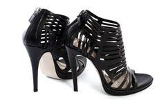 Zapatos femeninos Imagen de archivo libre de regalías