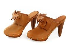 Zapatos femeninos fotos de archivo libres de regalías