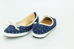 Zapatos femeninos del verano Imágenes de archivo libres de regalías