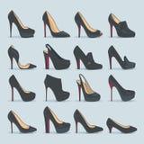 Zapatos fijados libre illustration