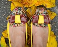 Zapatos hermosos fotografía de archivo