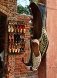 Zapatos indios Fotos de archivo libres de regalías