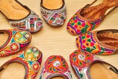 Zapatos indios Fotografía de archivo