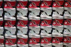 Zapatos inversos Fotos de archivo libres de regalías
