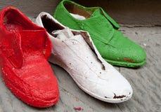 Zapatos italianos Imagen de archivo libre de regalías