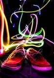 Zapatos ligeros Imagenes de archivo
