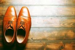 Zapatos masculinos Imagenes de archivo